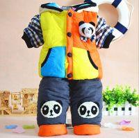 Children's Clothing Winter Jacket Set