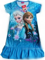 Cartoon Nightgown Dresses Of Girls