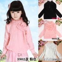 100% cotton knitted girls