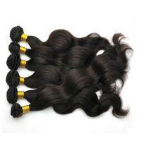 100% virgin human hair super wave Brazilian hair weave weaving.FOB price:US$19-99.