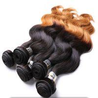 100% Hair Brazilian Wavy Remy Hair Weaving