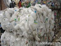 100% HDPE Milk Bottles scrap natural