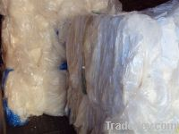 100% & 98-2 LDPE plastic film scrap in baled