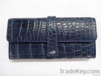 crocodile wallets women