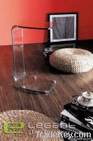 Simple Design Glass End Table S041