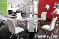 Furniture Glass Dinner Table CA432W