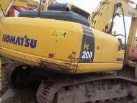 Used Komatsu PC200-8 Crawler Excavator from Japan