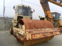 Used INGERSOLL RAND SD150D ROAD ROLLER