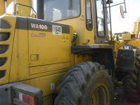 Used Komatsu WA100 Front Loader
