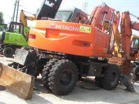 Used Hitachi ZX130WD Wheel Excavator