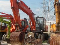 Used Hitachi ZX160 Wheel Excavator