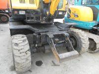 Used Hyundai 60W-7 Wheel Excavator