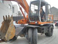 Used Hitachi EX100WD Wheel Excavator