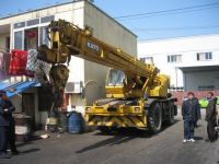 Used KATO KR25H Rough Terrain Crane