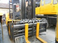 Used Japan Komatsu Forklift 15T