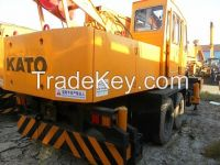 Sell Used Kato Truck Crane NK250E