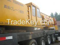 Sell Used Tadano Truck Crane AR2000M