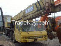 Sell Used Kato Truck Crane NK350