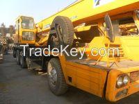 Used Japan Tadano 25T Truck Crane