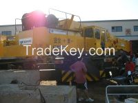 Used Japan Tadano 120T Truck Crane