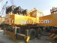 Used Japan Tadano 50T Truck Crane