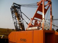 Sell Used Hitachi Crawler Crane KH180