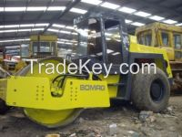 Used Bomag Road Roller 217D-2