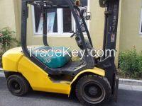 Used Komatsu Forklift FD30T-16