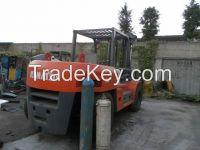 Used Komatsu Forklift FD100-8
