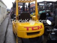 Used 3 Ton TCM FD30 Diesel Forklift Japan Origin