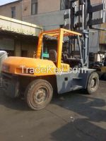 Used 10 Ton TCM FD100 Forklift Good Condition