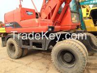 Used Doosan Wheel Excavator DH150W-7
