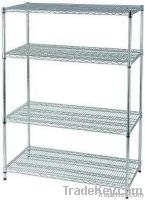 Chrome Wire Shelving & Chrome Wire Racking