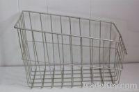 Metal Basket - Industrial Storage - Office - Kitchen - COTTAGE CHIC -