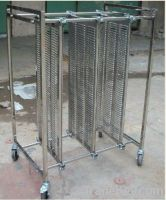Safe Stainless Steel PCB Handling Carts