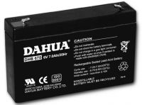Valve regulated lead acid battery, 6V7AH