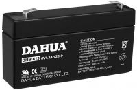 Sealed AGM battery, 6V1.3AH