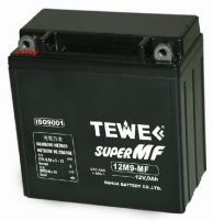 Sealed Maintenance-free Motorcycle Battery, 12V9AH