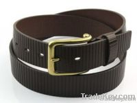 fashion cow hide genuine leather belt for man