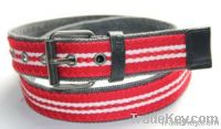 webbing fabric knitted belt