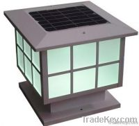 High brightness solar lamp with long light up hours