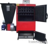 HEATING BOILERS WITH SOLID FUEL, AUTOMATIC INSTALLATION AND FOUR-PASS