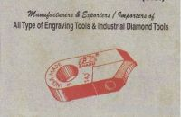 Industrial diamond tools and Engraving Tools