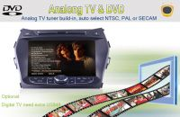 "8""CAR DVD GPS NAVIGATION RADIO AUDIO BLUETOOTH TV  FOR HYUNDAI IX45 / SANTA FE 2013-"