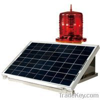 CM-012TR Solar-Powered Medium Intensity Aviation Obstruction Light typ