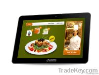 e-Dinette - Dine with a touch ( Touch Screen for a digital menu)
