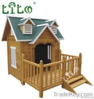 Luxury wooden dog house (LLPH-D0075)