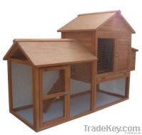 Large ventilated wooden chicken house for sale LLCH-005