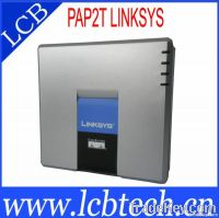 Unlocked VoIP Linksys PAP2T. Voip Adapter with two phone ports