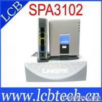 Unlocked VOIP phone adapter SPA3102
